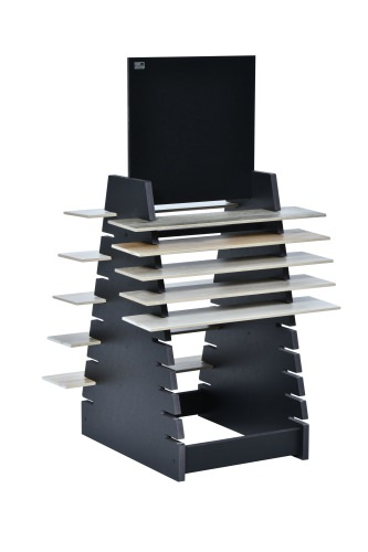 20 Slot Tiered Double Plank Stand
