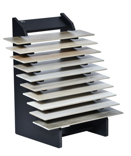 10 Slot Tiered Plank Stand
