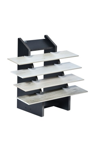 4 Slot Tiered Plank Stand
