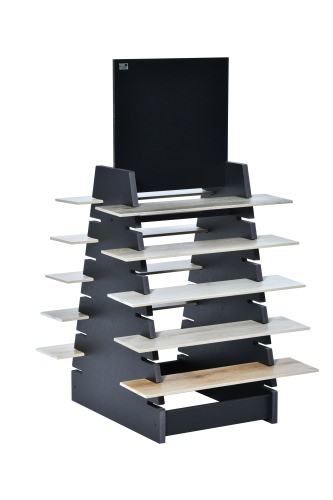10 Slot Tiered Double Plank Stand