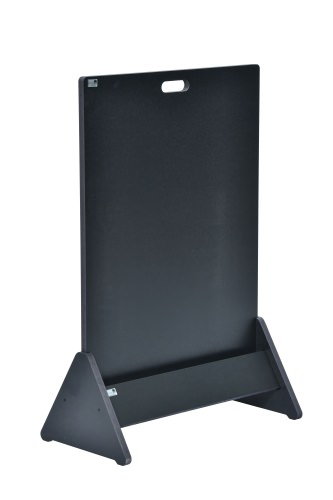 Closed Triangular Single Display Stand