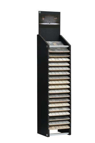 Cotswold 17 Slot Horizontal Narrow Tower Stand