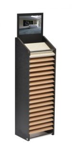 Cotswold 17 Slot Horizontal Tower Stand
