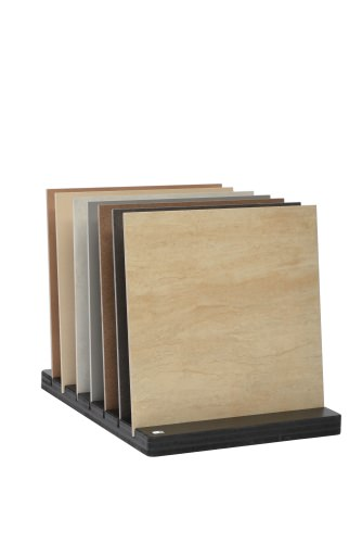 Flat 6 Slot Flat Slotted Display Stand With Tiles