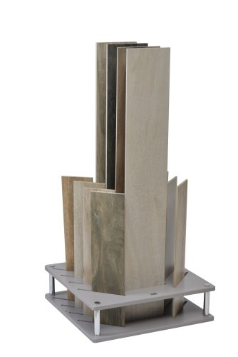Grey Cotswold 12 Slot Slotted Display Stand