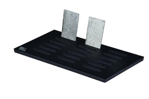 Black Sparkle 18 Slot Desktop Stand