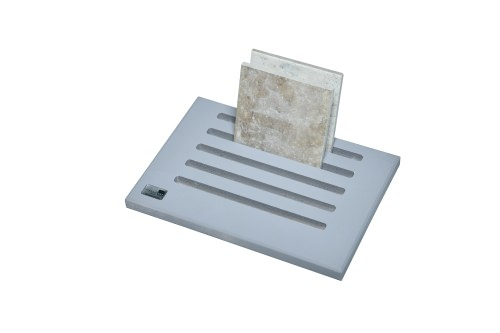 grey 5 slot desktop stand