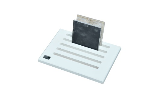 White 5 Slot Desktop Stand