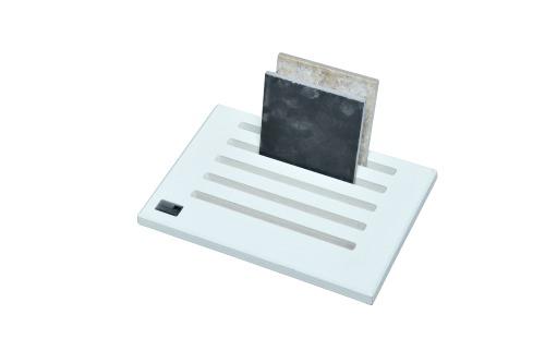 White 5 Slot Desktop Stand